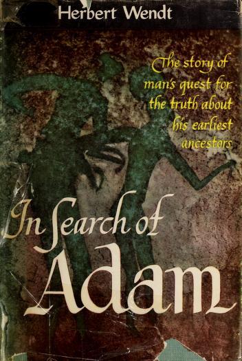 In search of Adam by Herbert Wendt
